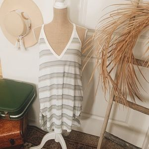 Free People Tank Top Cover Up